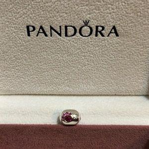 Pandora pink dog paw charm 🐾